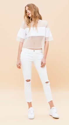 Rue8isquit Ripped Jeans 5001
