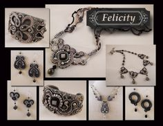 Amee K. Sweet-McNamara Soutache Jewelry Examples Current