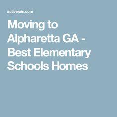 Moving to Alpharetta GA - Best Elementary Schools Homes