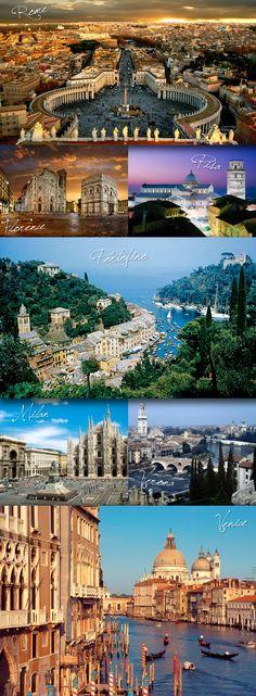 Dream Italy roadtrip.