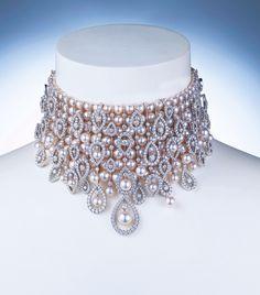Choker Mikimoto en perles Akoya et diamants, 2010