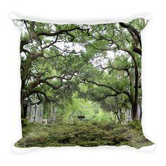 Savannah GA Pillow Historic Savannah Decor Southern Decor