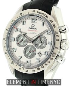 Omega Speedmaster Broad Arrow Chronograph 44mm iN Stainless Steel WithA  Silver Arabic Dial (321.13.44.50.02.001)