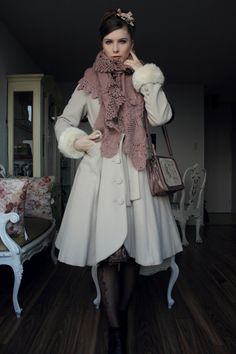 .Yes i know, it's not Steampunk.  It's more like Lolita, but I liked it so I pinned it here.    ; )