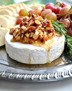 Serve Honey Almond Baked Brie at your Christmas dinner with this recipe.