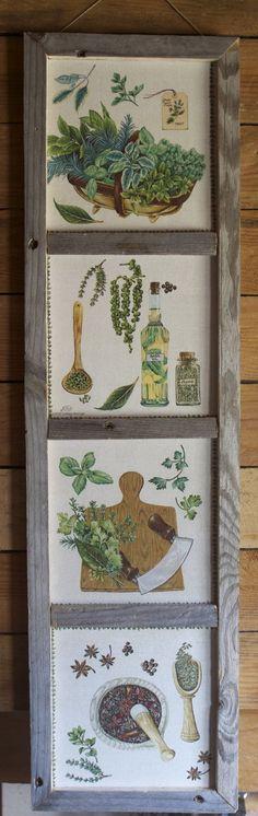 Tableau déco cuisine un air de Provence : Décorations murales par sandrine