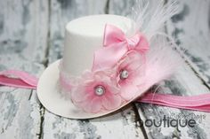 Mini Top Hat Mad Hatter Style Headband Light by MistyDaysBoutique, $18.00