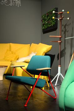 Polygon chair by Kvadra at the Interior Innovation Award 2014 /// Interiorator