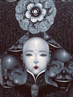 Qiu Shengxian (邱胜贤; b1955, Jiangxi Province, China) | PIN made by RomANikki