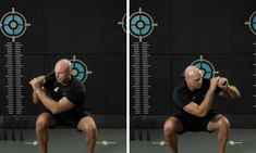 The steel club clock squat is often confused with the side shoulder clean. Confused, Squats, Clock, Training, Australia, Exercise, Workout, Steel, Education