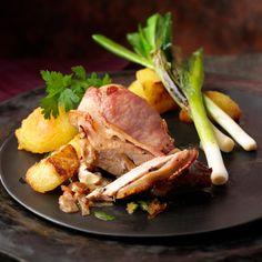 Découvrez la recette Poitrine de faisan au bacon et au cidre sur cuisineactuelle.fr.