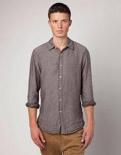 Double fabric shirt love the color