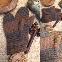 A personal favourite from my Etsy shop https://www.etsy.com/uk/listing/579305541/nalbinded-mittens-viking-mittens-as