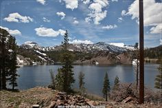 0442/15. Tioga Pass. Ellery Lake