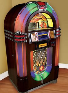 Digital Bubbler Model 1015 Digital CD Jukebox By Chicago Gaming Company Vintage Music, Vintage Box, Vintage Stuff, Jukebox, Antique Record Player, Rock And Roll, Candy Games, Retro, Entertainment