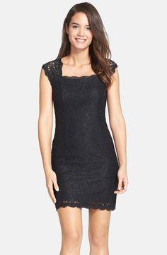 Lace Sheath Dress (Regular & Petite)