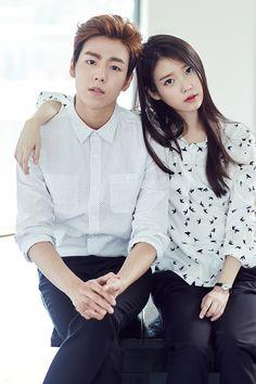 IU and Lee Hyun Woo - Unionbay 2015