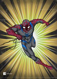 Spiderman Secret War by mdavidct@deviantART