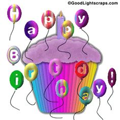 Glitter Birthday Wishes   scraps, birthday orkut glitter, animated birthday orkut greetings ...