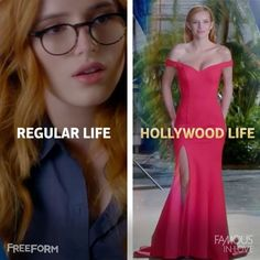 When you're trying to live a double life... 🤓💃🏼 #FamousInLove