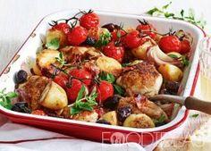 Курица тушенная в пиве с картофелем и овощами