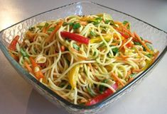 Asian Noodle Salad by Law Students Wife