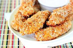 Cheddar and Taco Spiced Chicken Tenders