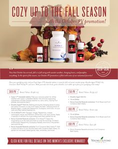 Young Living September 2017 Promotion