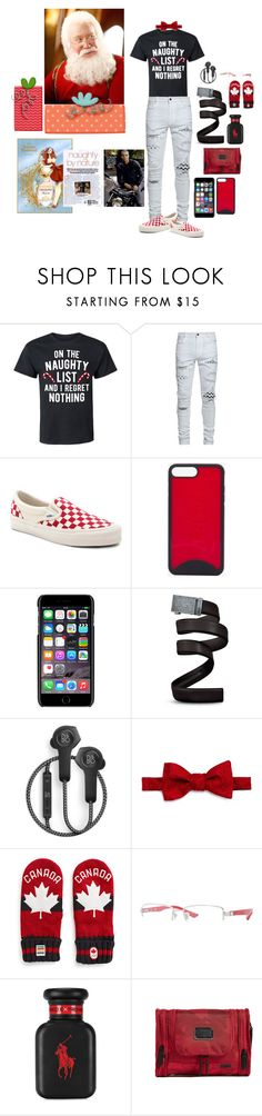 """""""ABoy's on the Naughty List Of Santa!"""" by manonth on Polyvore featuring AMIRI, Vans, Vivienne Westwood, Christian Louboutin, Dolce&Gabbana, Mission Belt, B&O Play, The Men's Store, Ray-Ban en Ralph Lauren"""