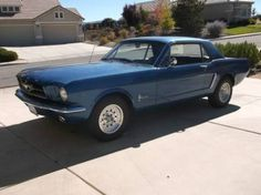 1965 Ford Mustang for sale (NV) - $13,000 '65 Ford Mustang Coupe 37,682 on Odometer. Low Miles!! RWD. Clean title. Beautiful Dark Blue exterior paint Nice Black Cloth interior - Custom Upholstery