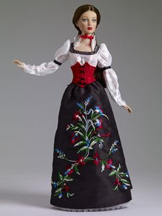 """""""Snow White"""" #pinned from our 2013 Fall Release. Outfit only, fits 16"""" bending wrist body $124.99 ^kv #dollchat ^kv"""