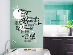 Die 13 besten Bilder von Wandtattoo Badezimmer | Kiwi, Wall hanging ...