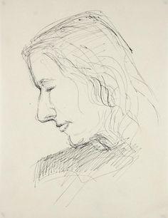 "25482- Dellard Cassity, Mid 20th Century, Ink on Paper, 8.5""x11"", $195"