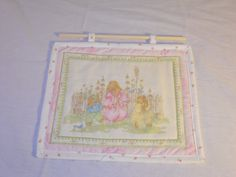 3 rabbits in the garden wall hanging  Garden wall by SarahPixel, $10.00