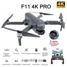 Look at this amazing SJRC F11 Pro 4K GPS Drone 5G Wifi FPV Dual Camera! Get it only for 149.99$! #ConsumerElectronics #Drones #DronesandAccessories Wifi, Buy Drone, Consumer Electronics, Remote, Drones, Aliexpress, Free Shipping, Amazing, Products