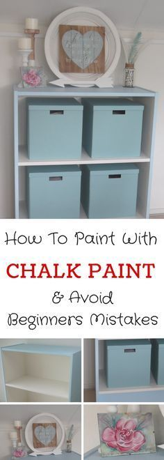 Chalk Paint Furniture Upcycle Project: See before and after images of this old office bookcase makeover and learn how to avoid beginners mistakes.  Step by step tutorial can be found over on the ahappyhomeinholland.com website.