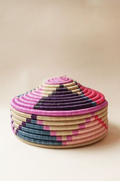 XL Marrakech Floor Basket by Indego Africa. All profits fund educational training programs for the women who handcraft Indego Africa's products.