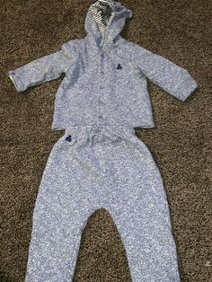 6-9m New With Tags Child Of Mine Baby Boy's First Responders Hooded Romper