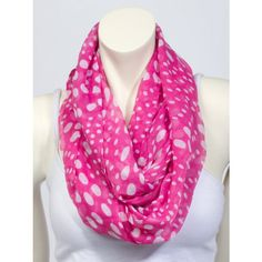 Polka-Dot Eternity Scarf - Scarves - Accessories