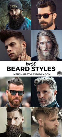 Best Beard Styles And Ideas For Men - Discover Different Types Of Beard . - Best beard styles and ideas for men – Discover different types of beards to fi best beard styles - Beard Styles For Men, Hair And Beard Styles, Men Facial Hair Styles, Cool Haircuts, Haircuts For Men, Different Types Of Beards, Bart Styles, Textured Haircut, Beard Haircut