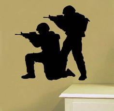 walll art army men