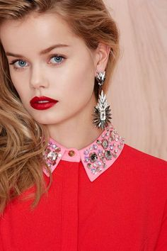 Get Spiked Jewel Drop Earrings | Shop Accessories at Nasty Gal