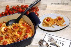 Thermosternchen: Spaghetti - Nester aus dem Baker