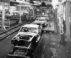 1965 Mustangs ready for delivery