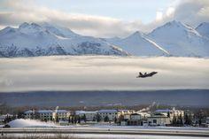 F-22 Raptors of the 3rd Wing at Elmendorf Richardson. from Elmendorf Air Force Base, Alaskan Command.