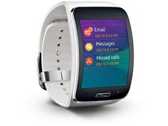 Amazon.com: Samsung Gear S Smartwatch, White 4GB (AT&T): Cell Phones & Accessories