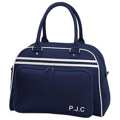 #Personalised #retro vintage luggage,flight bag,bowling bag #style gym,sports ,  View more on the LINK: http://www.zeppy.io/product/gb/2/321668794971/