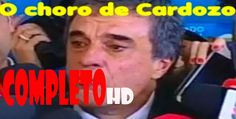 Cardozo chora e diz que discurso de Janaina Paschoal lhe atingiu. -  HD ...