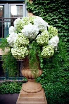 Large hydrangea arrangements