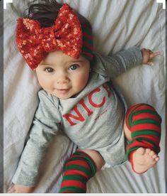 Top 20 Old English Girl Names – Old English Girl Names Totally doing this for E for her first Christmas. She'll have so much hair by then - Unique Baby Outfits So Cute Baby, Baby Kind, Cute Kids, Cute Babies, Pretty Baby, The Babys, English Names Girls, Baby Girl Fashion, Kids Fashion